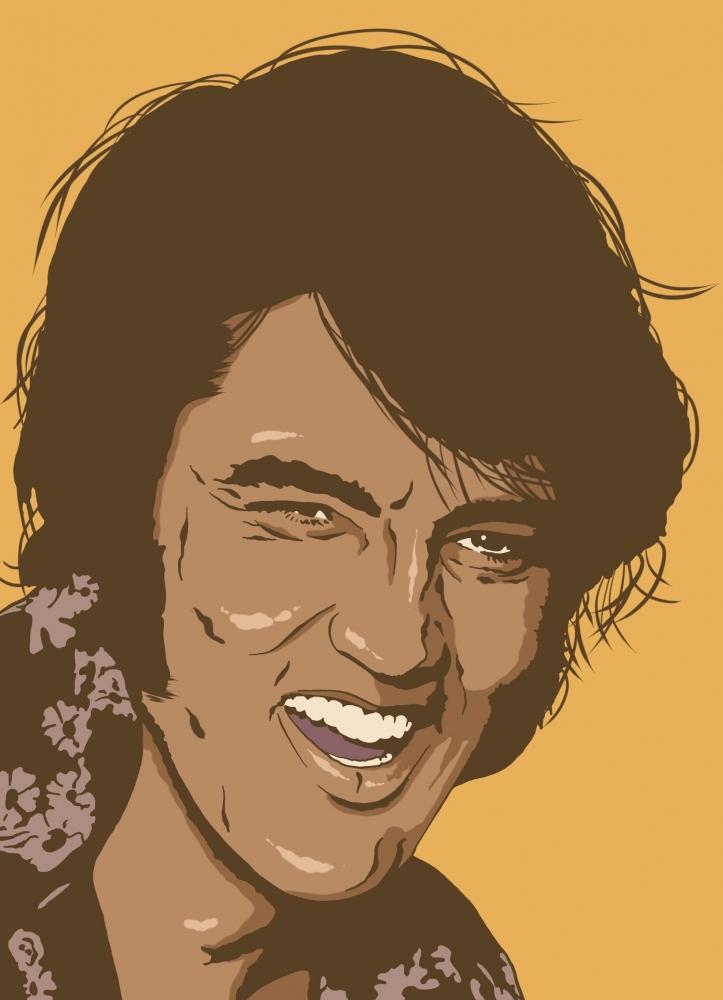 Elvis Presley by Oliversum
